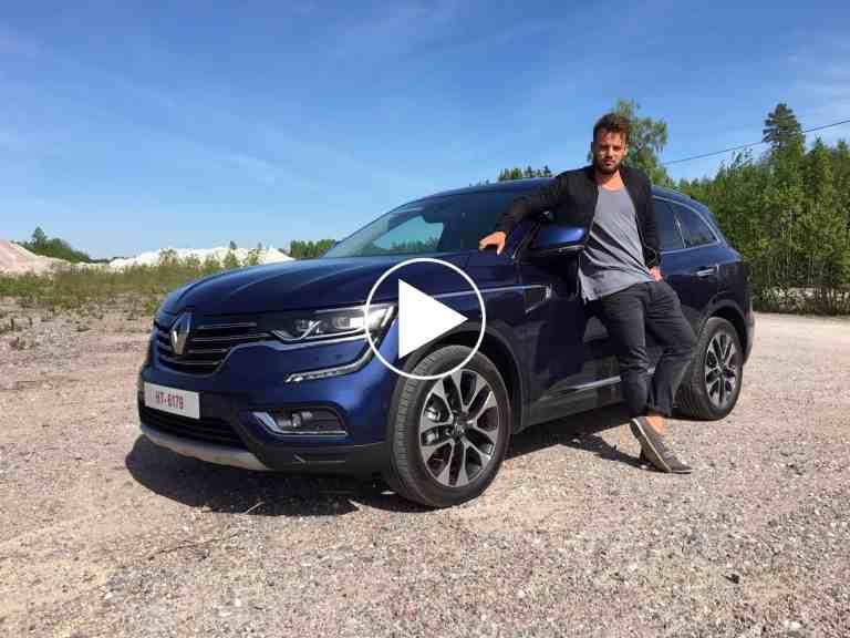 Offroad mit dem neuen Renault Koleos