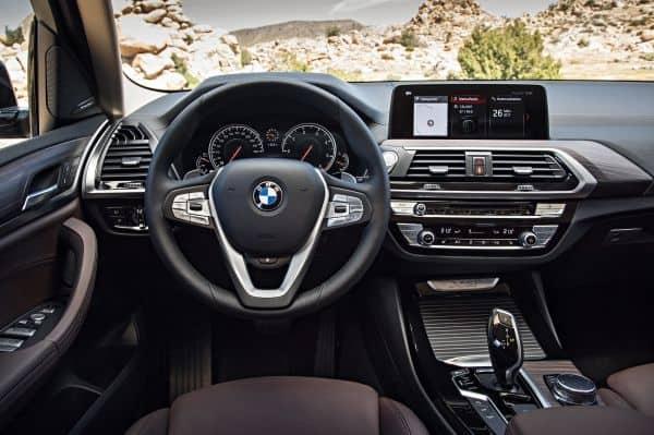 BMW X3 Lenkrad (2018)