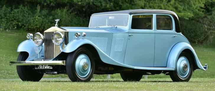 Der Phantom II Continental von 1933 schafft muntere 152 km/h