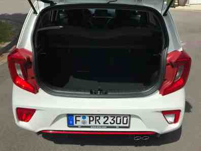 Kia Picanto GT Line Gepäckraum