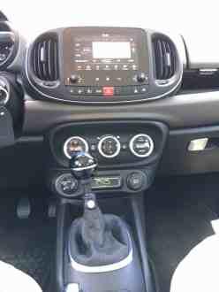 Fiat 500L Mittelkonsole