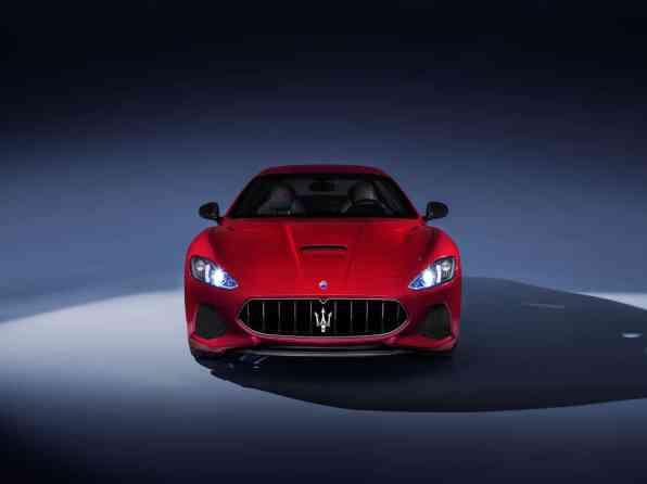 MaseratiGranTurismoMCMY18frontview