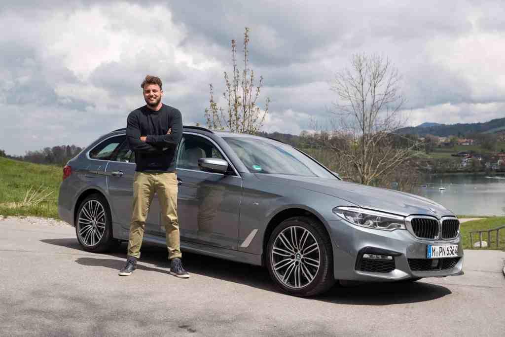 BMW 5er Touring - Teil-autonomer Luxus-Laster