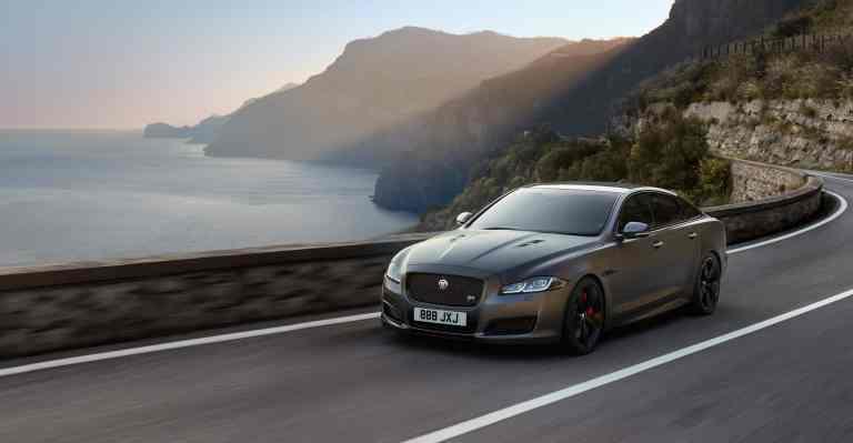 Jaguar läßt Luxuslimousine XJ bald mit 575 PS auf die Straße