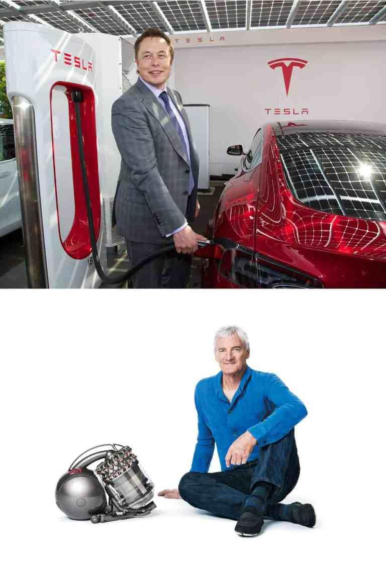 Elektroautos aus dem Staubsauger