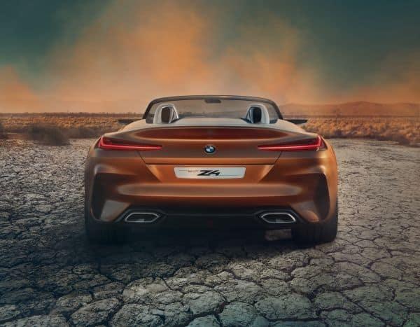 BMW Concept Z4: Hingucker am Pebble Beach
