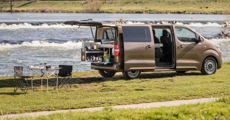 Toyota Proace Verso wird auf Wunsch zum Campingbus