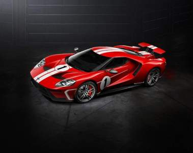 Ford Performance bietet Ford GT '67 Heritage Edition an