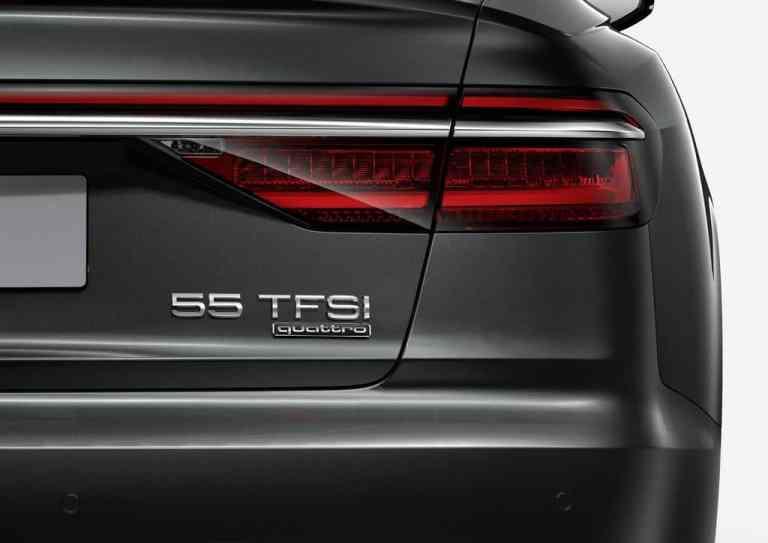 Bei Audi setzten künftig zwei Ziffern die Zeichen