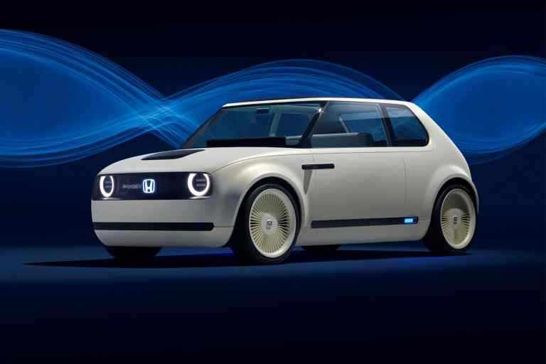Urban EV Concept: Ausblick auf Hondas kompakten Stromer