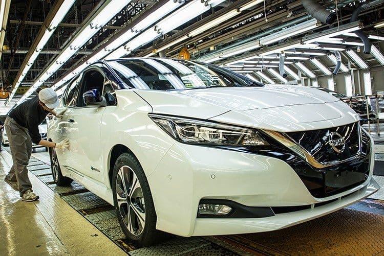 Ende des Jahres startet Produktion des Nissan Leaf in Sunderland