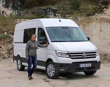 VW Crafter - Selbst die Frau des Handwerkers wird ihn lieben