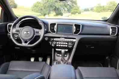 Kia Sportage GT line Cockpit