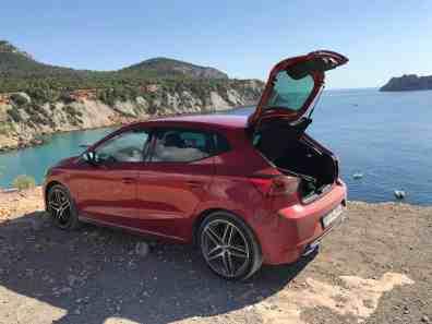 Seat Ibiza Gepäckraum