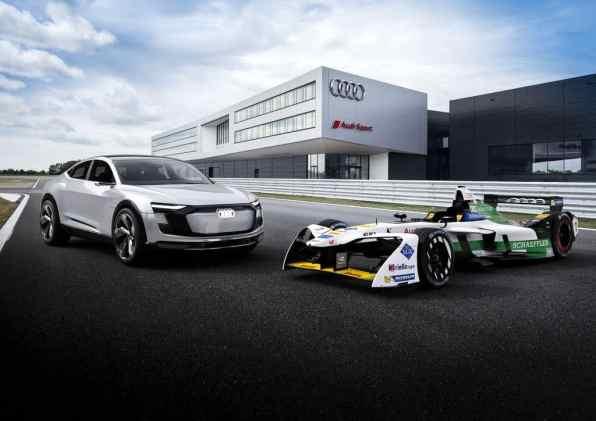 Audi E-Tron FE04.