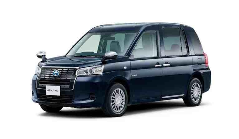 Toyota stellt neues Taxi vor