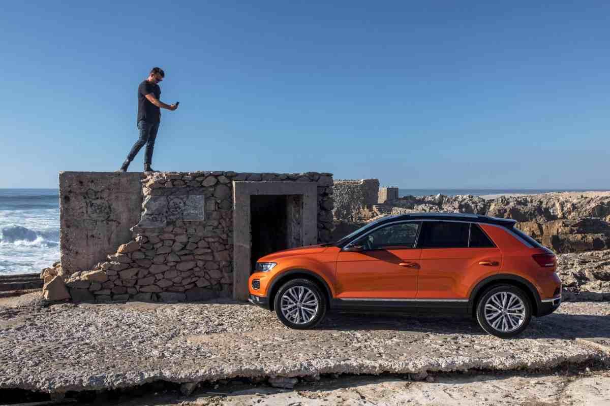 Volkswagen T Roc Mit Dem Lifestyle Suv Auf Die Gästeliste Der