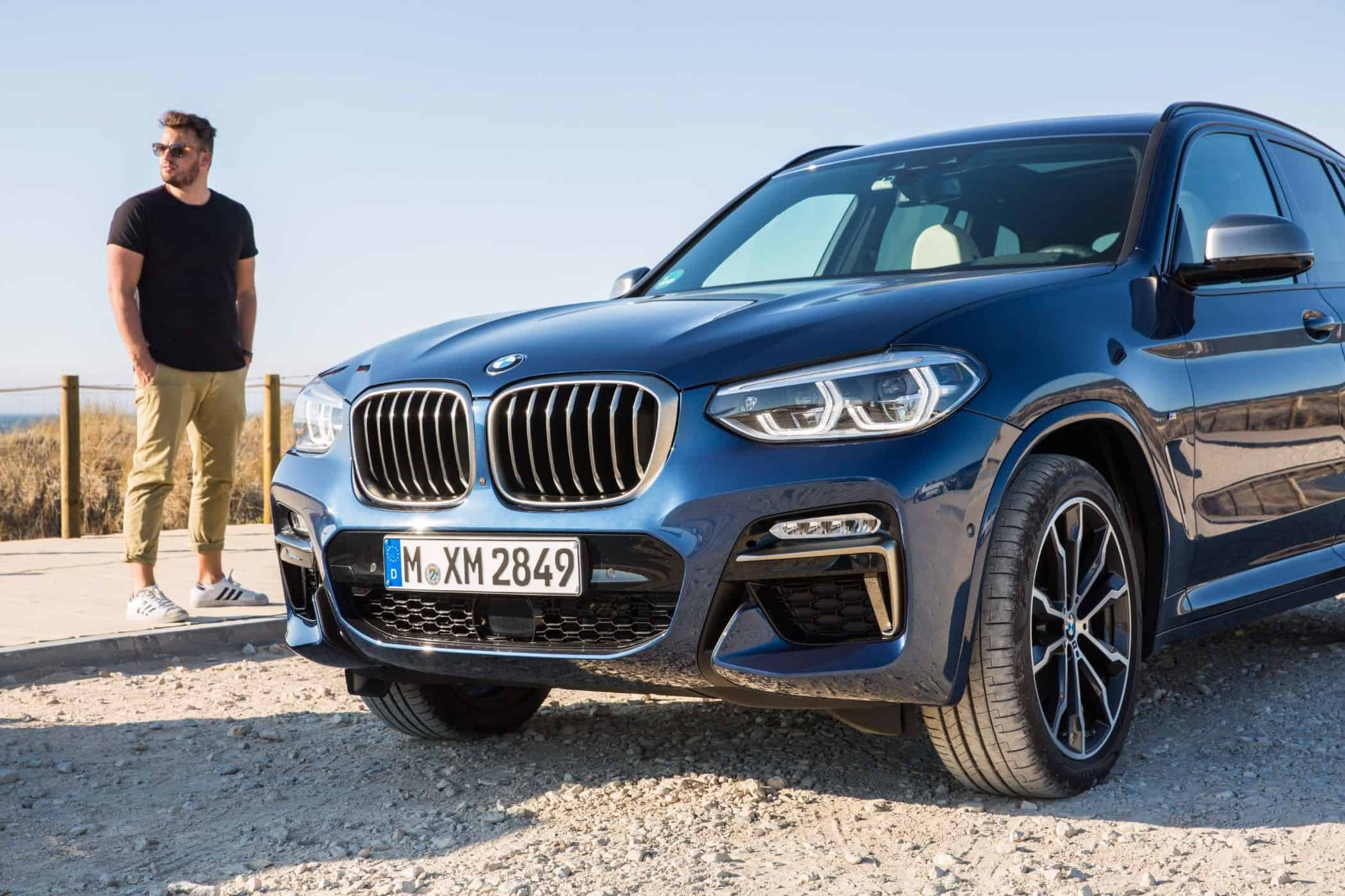 BMW X3, Jan Weizenecker