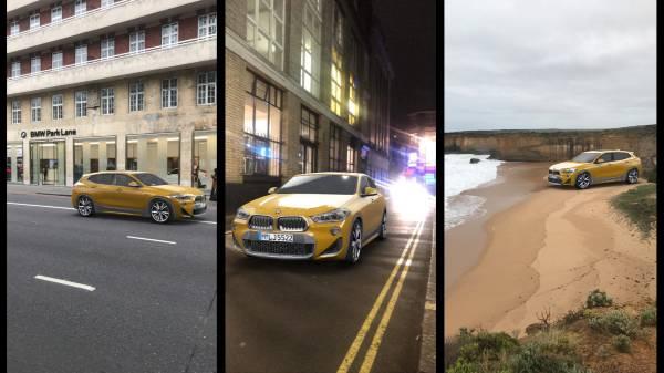 BMW macht den X2 schon jetzt auf Snapchat erlebbar