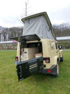 Behl Mobile: Campen im Jeep Wrangler Unlimited