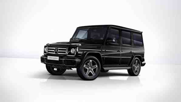 Mercedes-Benz G 350 d Limited Edition.