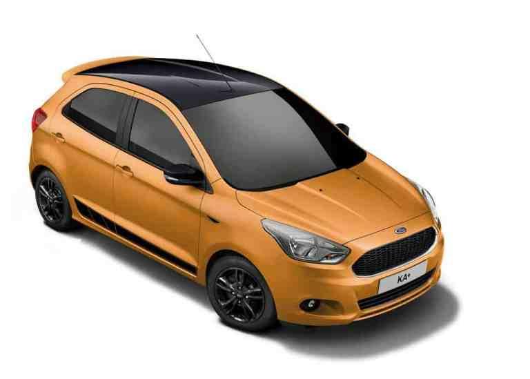 Ford setzt beim Ka+-Sondermodell ganz auf Black
