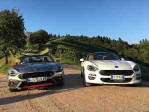 Abarth 124 Spider oder Fiat 124 Spider – Welcher ist die besser Wahl?