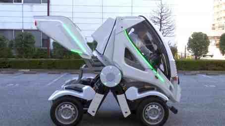 Earth-1 Elektro Auto zum Zusammenklappen aus Tokyo Japan