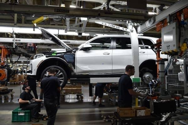 Produktion der ersten Vorserien BMW X7