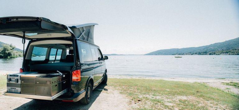 Nomen est omen: Calibox für den Campingbus