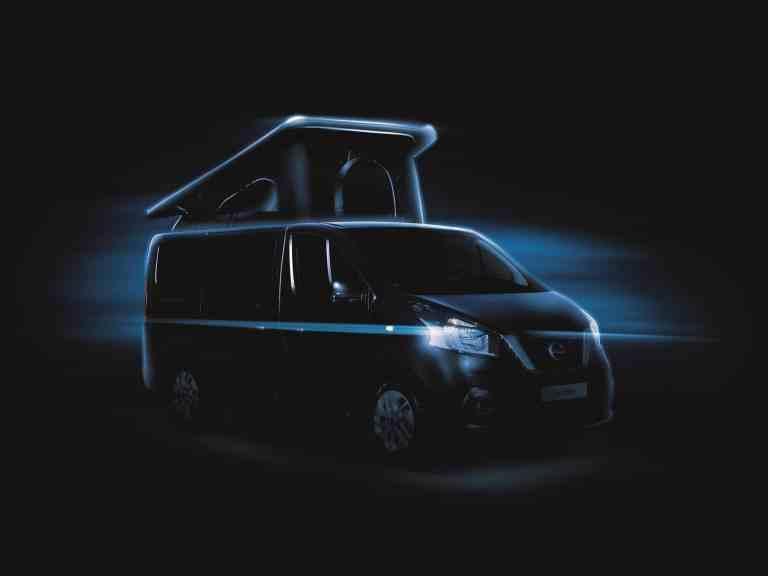 CMT 2018: Der Nissan NV300 geht unter die Camper