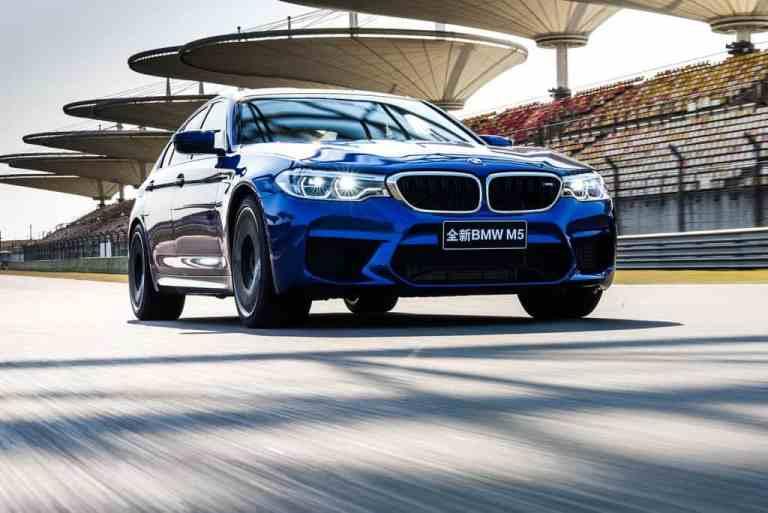 BMW M5: Keine Limousine war in Shanghai schneller