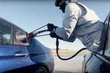 DRIFT-WELTREKORD und Tank-Stunt: BMW M5 F90 fährt 8 Stunden und 374 Kilometer quer!