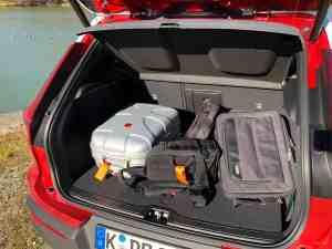 Volvo XC40, Kofferraum