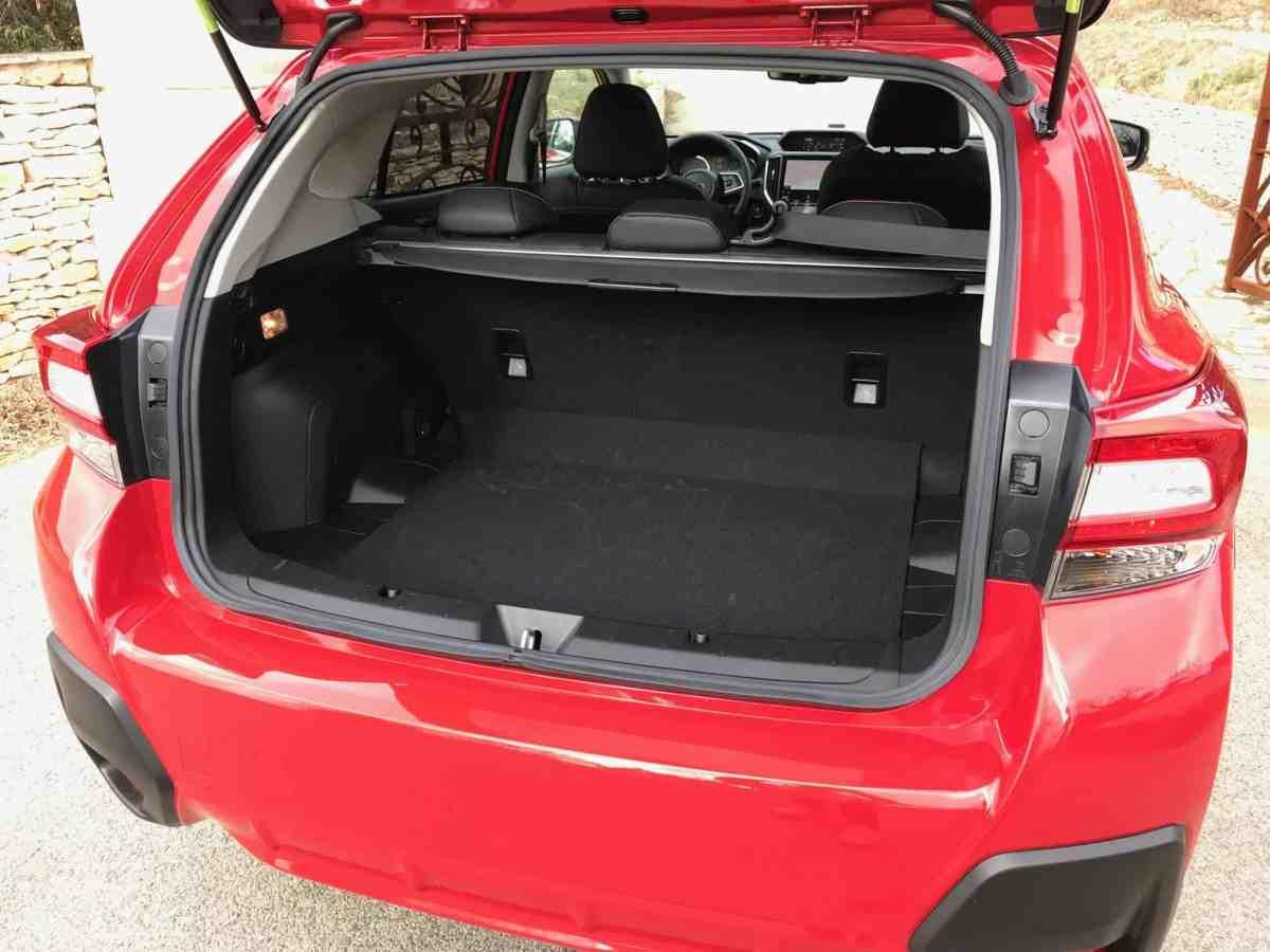 Subaru XV, Kofferraum