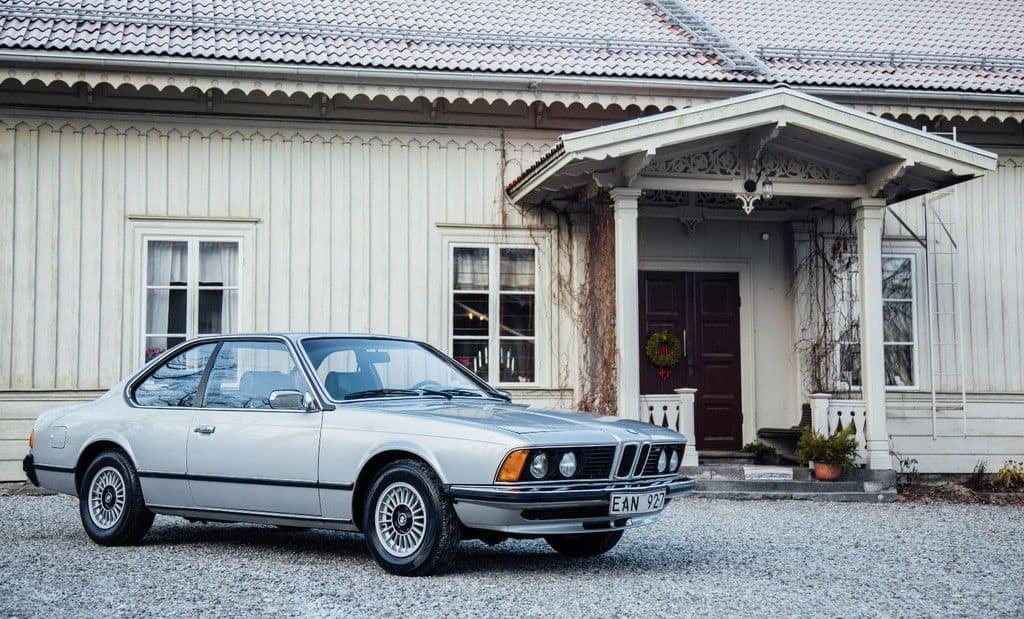1977er BMW 633 CSI