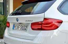 BMW 320d Touring.