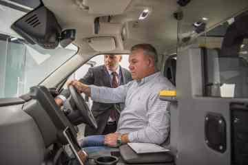 Generationswechsel im Taxigewerbe von London