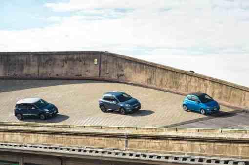 Fiat 500 Mirror, Fiat 500 X Mirror und Fiat 500 L Mirror Sondermodelle