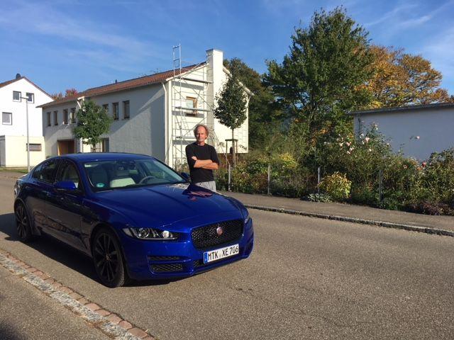 Jaguar XE, Dr Friedbert Weizenecker