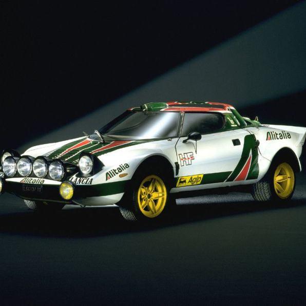 Lancia Stratos Rallye (1973–1974).