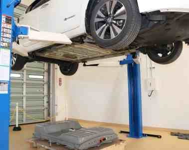 Nissan schenkt Lithium-Ionen-Batterien zweites Leben