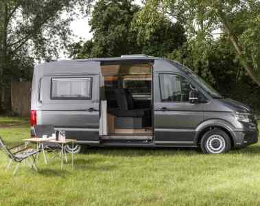 VW Crafter mit Reimo-Ausbau