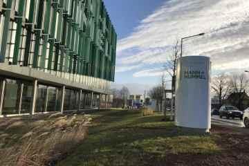 Feinstaubfilteranlage von Mann + Hummel in Ludwigsburg.