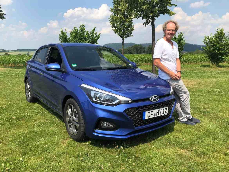 Der Hyundai i20 bekommt ein Facelift