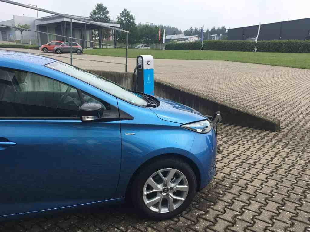 Renault ZOE - Mit dem kompakten Elektro-Auto unterwegs in der Eifel