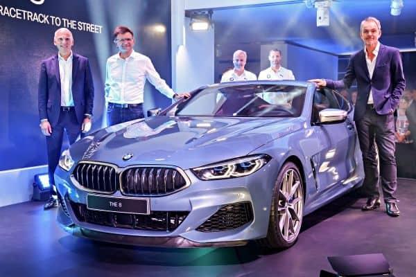 Neues BMW 8er Coupé und neuer BMW M8 GTE in Le Mans