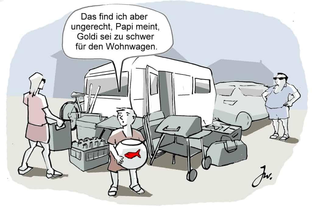 Ratgeber: Mit dem Wohnwagen sicher ans Ziel