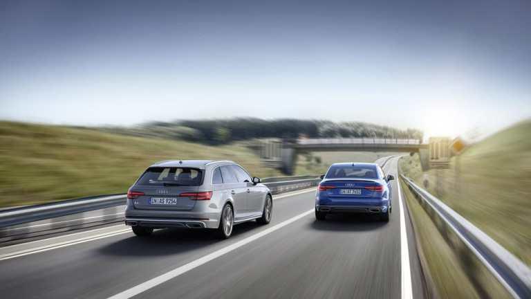 Audi A4 startet ins neue Modelljahr