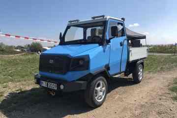 Das a-Car - Elektro-Mobil für Afrika
